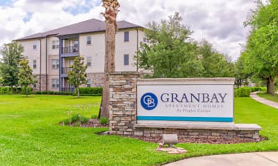 Community Signage, Gran Bay Apartment Homes at Flagler Center, 2