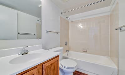 Bathroom, Woodland Creek, 2