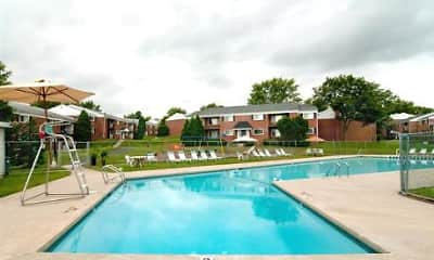 Pool, Sussex Square Apartments, 1