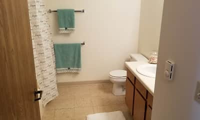 Bathroom, Colorado Park Apartments, 2
