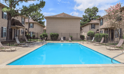 Pool, Cedarwood Apartments, 1