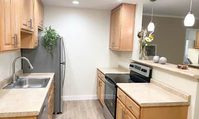 Kitchen, The Garden Apartments, 0