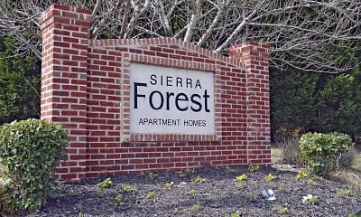 Community Signage, Sierra Forest Apartments, 2