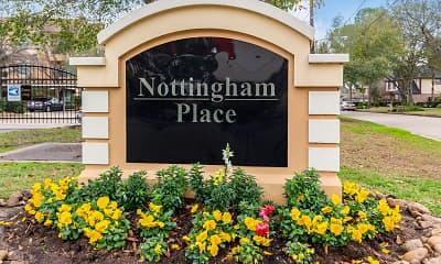 Community Signage, Nottingham Place, 2