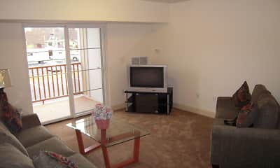 Living Room, Stonybrook Apartments, 0