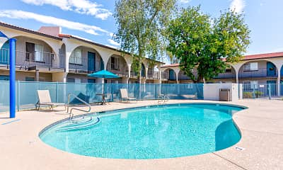 Pool, Fiesta Village Furnished Apartments, 0