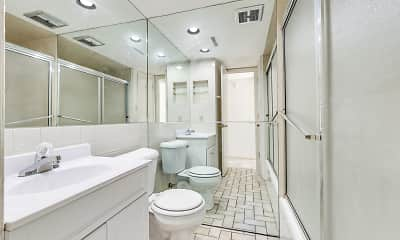 Bathroom, Colonial Apartments, 2