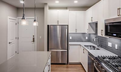 Kitchen, Avalon Teaneck, 1