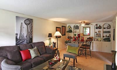 Living Room, Villas At Mandarin Bay Apartments, 1