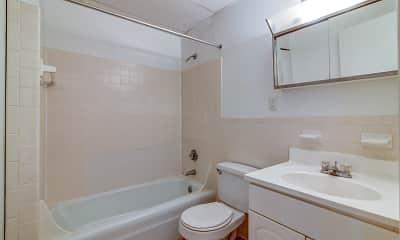 Bathroom, Lord Baron Apartments, 2