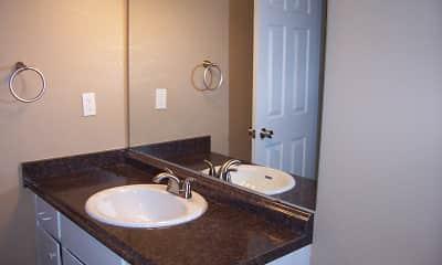 Bathroom, Pennsylvania Place Apartments, 2