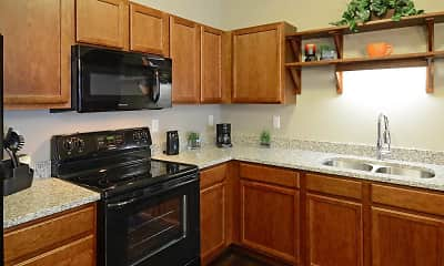 Kitchen, The Cielo Apartments, 0
