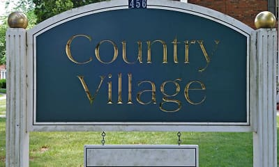 Community Signage, Country Village, 2