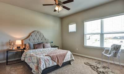 Bedroom, Pershing Pointe Villas, 1