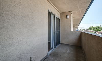 Patio / Deck, Ramona Palm Apartment Homes, 2