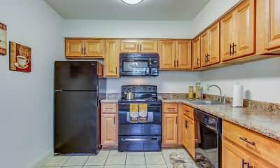 Kitchen, Birnam Wood Apartments, 0