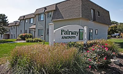 Community Signage, Fairway Apartments, 0