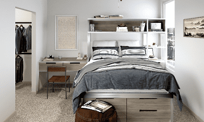 Bedroom, The Finmore at 241, 0