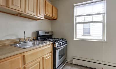Kitchen, Magnolia Park Apartments, 0