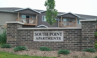Building, South Point Apartments, 1