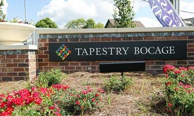 Community Signage, Tapestry Bocage, 2
