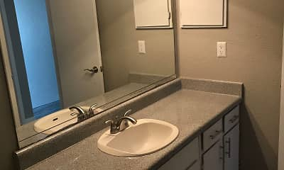 Bathroom, Parkside Townhomes, 2