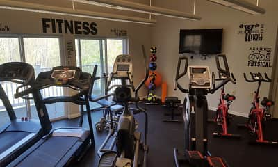 Fitness Weight Room, Huntington Ridge, 1