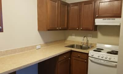 Kitchen, The Residences at Whitehall, 2