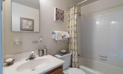 Bathroom, Dutch Village Townhomes & Apartments, 2