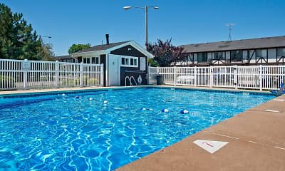 Pool, Camelot Apartments, 2