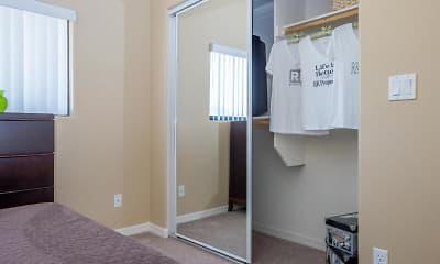 Bedroom, Sereno Townhomes, 2