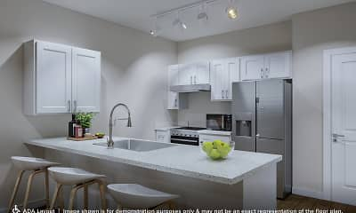 Kitchen, 808 Berry Place, 2