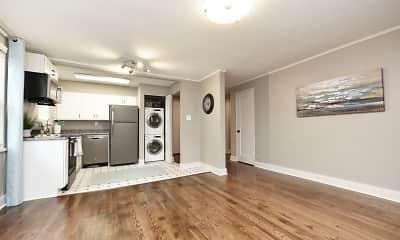 Living Room, Emerson Apartments, 2