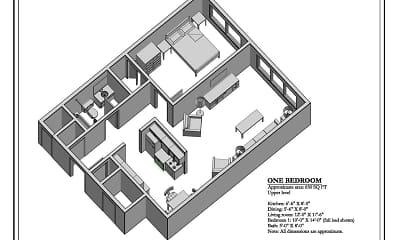 Central Village Apartments, 1