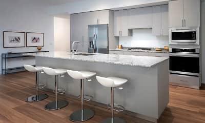 Kitchen, Optima Kierland Apartments, 1