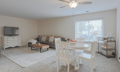 Dining Room, Cook Apartments at Libertyville, 1