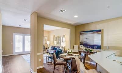 Dining Room, Lagniappe of Biloxi Apartment Homes, 1