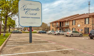 Community Signage, Greenville Court Apartments, 1