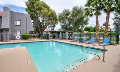 Pool, Sonoran Flats, 0