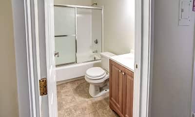 Bathroom, Tara Apartments, 2