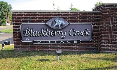 Community Signage, Blackberry Creek Village, 0