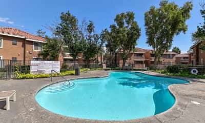 Pool, Smoketree Polo Club Apartments, 0