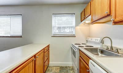 Kitchen, Pacific Highlands Apartments, 0