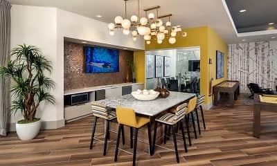 Dining Room, Broadstone Viridian, 1