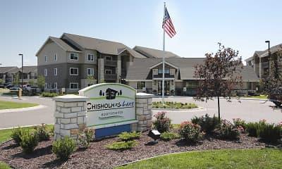 Community Signage, Chisholm Lake Apartments, 2