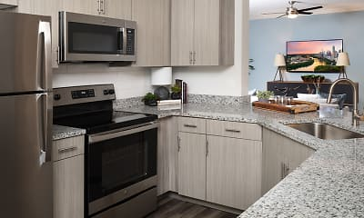 Kitchen, The Madison Apartments, 0