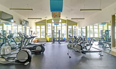 Fitness Weight Room, Olympic Village, 2