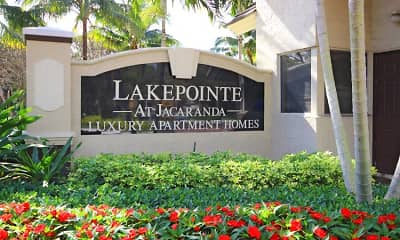 Community Signage, Lakepointe at Jacaranda Apartments, 0