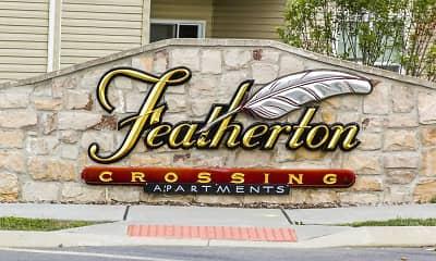 Community Signage, Featherton Crossing, 2