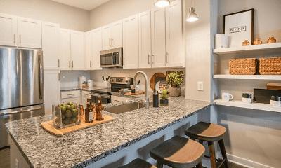 Kitchen, Blu on Farrington, 1